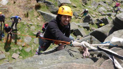 Peak climbing course