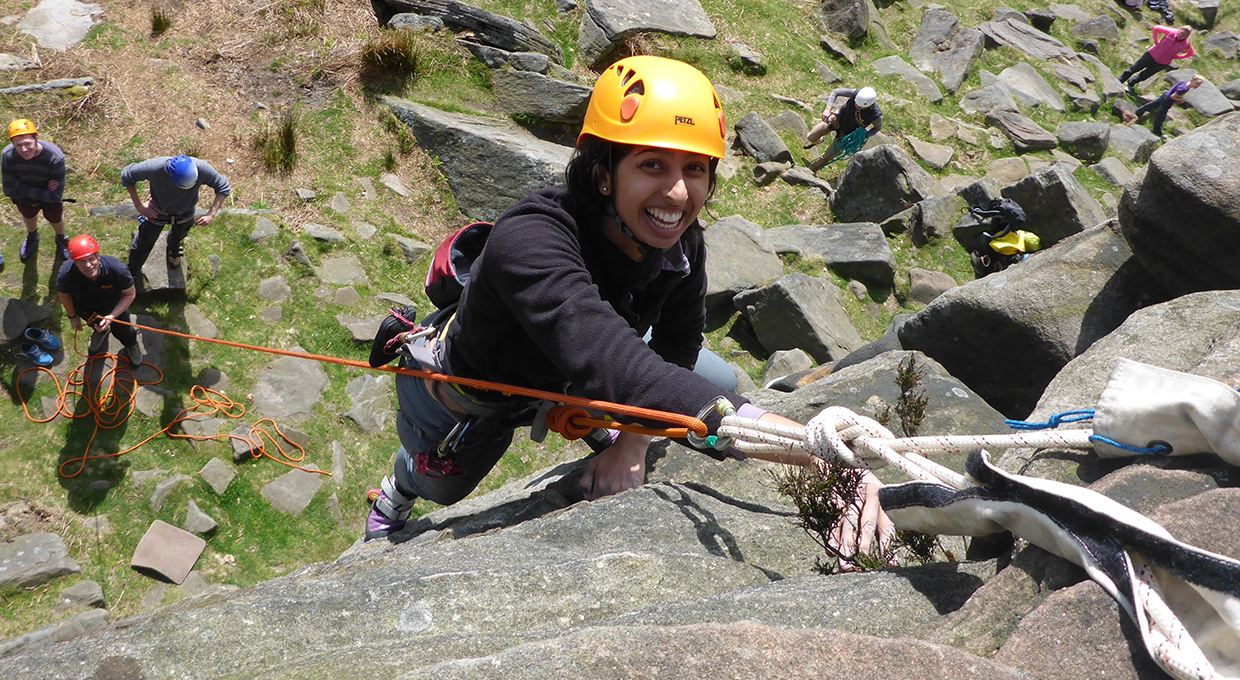 Rock Climbing Intermediate course private booking